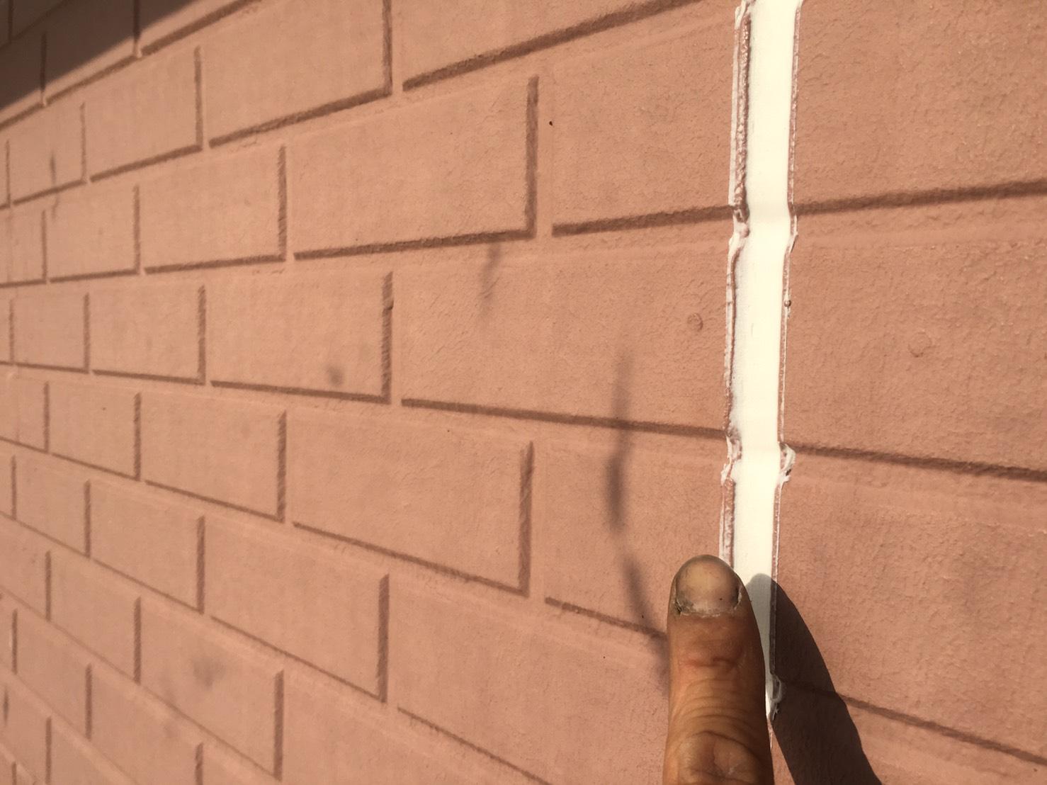 外壁 シーリング工事  屋根・外壁塗装の彩家です。茨城県筑西 ...